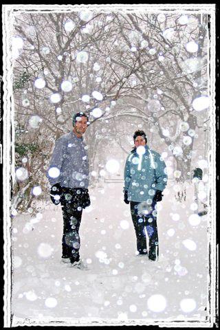 Snowrunningborder