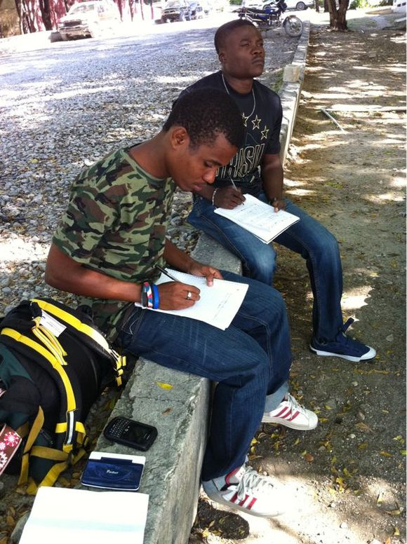 Essays, A Mango, and a Hot Walk - Day #3
